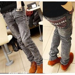 Mã số 51023- Quần jeans nam trẻ trung phong cách