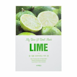 Mặt nạ chiết xuất từ chanh Apieu My Skin-Fit Sheet Mask Lime
