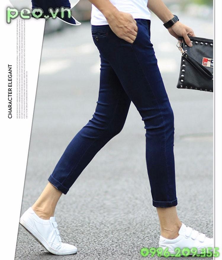 Mã số 51012 - Quần jeans cá tính 3