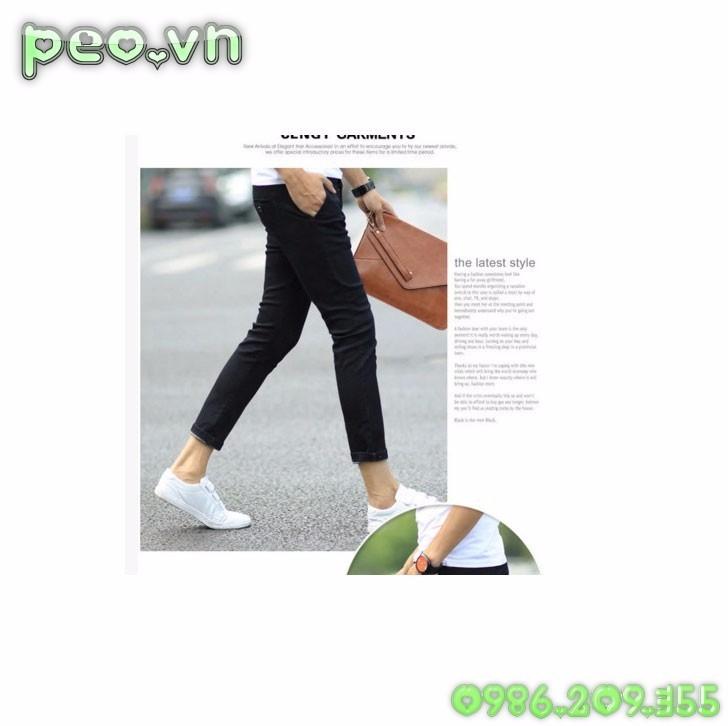 Mã số 51012 - Quần jeans cá tính 4