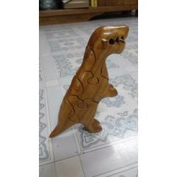 Thú ghép gỗ hình khủng long
