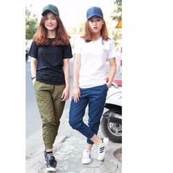 quần kaki thời trang-form rộng mặc được cả nam-nữ