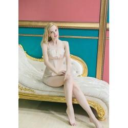 Bộ đồ ngủ mặc nhà duyên dáng TK508 màu nude
