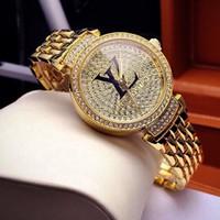 Đồng Hồ Louis Vuitton xi vàng cao cấp sang chảnh mẫu 2016-545