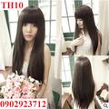 Tóc Giả Nữ Hàn Quốc Tặng Lưới - TH10