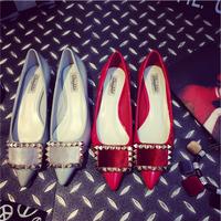 Hàng nhập loại 1 : Giày búp bê tán đinh vuông xinh xắn IT153