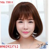 Tóc Giả Nữ Hàn Quốc Tặng Lưới - TH11