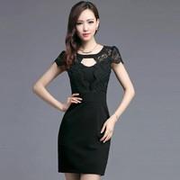 Đầm Ren có size XXL: Yong Ki Quyến Rũ