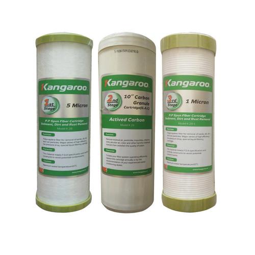 Bộ lõi lọc nước số 1,2,3 kangaroo - 3910668 , 2930170 , 15_2930170 , 169000 , Bo-loi-loc-nuoc-so-123-kangaroo-15_2930170 , sendo.vn , Bộ lõi lọc nước số 1,2,3 kangaroo