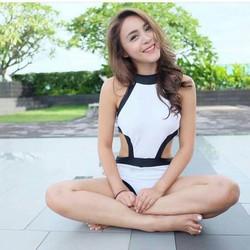 Bikini Một Mảnh Thun Hàn Quốc Cao Cấp Rosabkn130