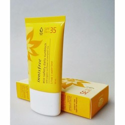 Kem Chống Nắng Innisfree Eco Safety Daily Sunblock SPF 35