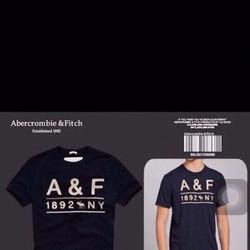 Áo thun Abercrombie Fitch hàng chính hãng made in Việt Nam XK