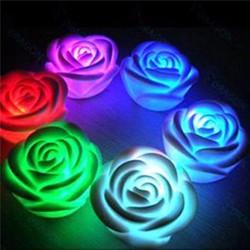 Combo 2 đèn ngủ hình hoa hồng dễ thương