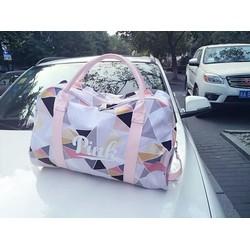 Túi xách du lịch Pink cao cấp