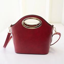 Túi xách thời trang da đẹp cao cấp tay cầm kim loại phong cách hàn