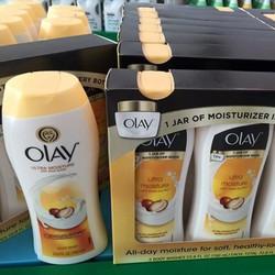 Sữa tắm dưỡng ẩm trắng da Olay Ultra Moisture with Shea Butter