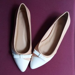 Giày búp bê nơ Romana đơn giản cực xinh
