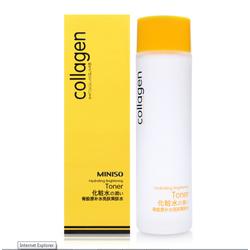 Nước cân bằng Collagen Miniso Hydrating Brightening Toner 120ml