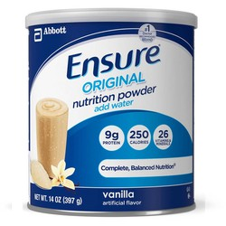 Sữa bột Ensure Nutrition Powder Vanilla 397g Abbott