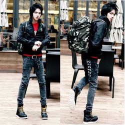 Mã số 51045 - Quần jeans cá tính