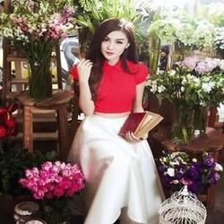 Áo nữ công sở cổ bẻ thanh lịch thiết kế đơn giản xinh đẹp AKN365