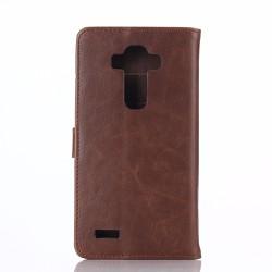 LG G4 - Bao da Flip Cover chất liệu PU cho điện thoại di động LG
