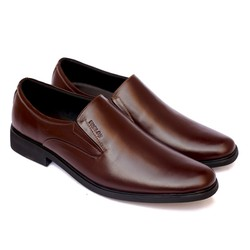Giày lười công sở GL67 màu nâu lịch lãm