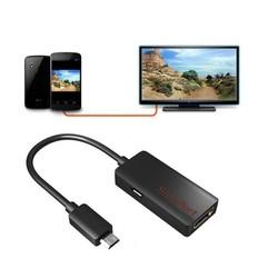 Cáp Slimport to HDMI truyền tín hiệu từ điện thoại lên Tivi