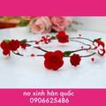 Vòng hoa handmade