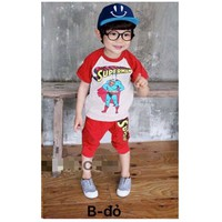 Bộ bé trai hình Superman áo NX255