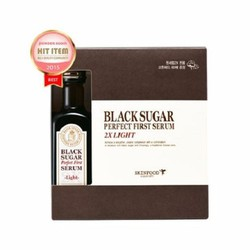 Tinh chất đường đen Skinfood Black Sugar Perfect First Serum 2X LIGHT