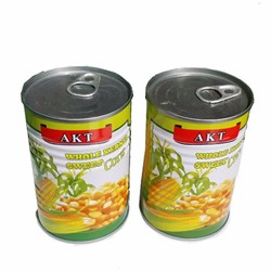 Thùng 24  lon Ngô ngọt nguyên hạt nhãn AKT