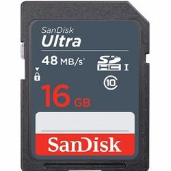 Thẻ nhớ SD SanDisk Ultra Class 10 16GB - 48MB