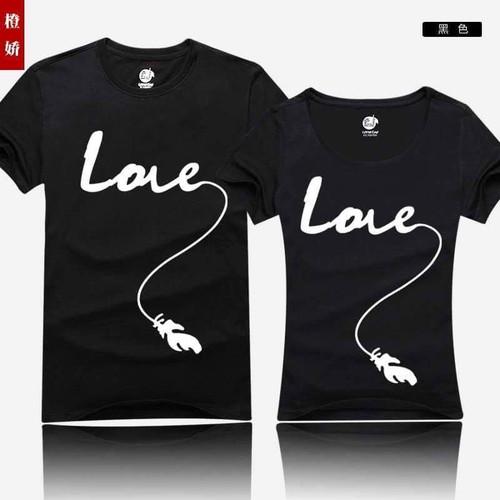 Sale xả kho - áo thun love d0334