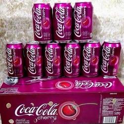 Combo 8 chai Coca Cola cherry - MỸ