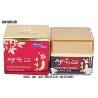 Kem dưỡng da hồng sâm ban đêm My Gold sleeping pack - HX036