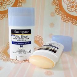 Kem chống nắng Neutrogena Ultra Sheer Face  Body Stick Sunscreen