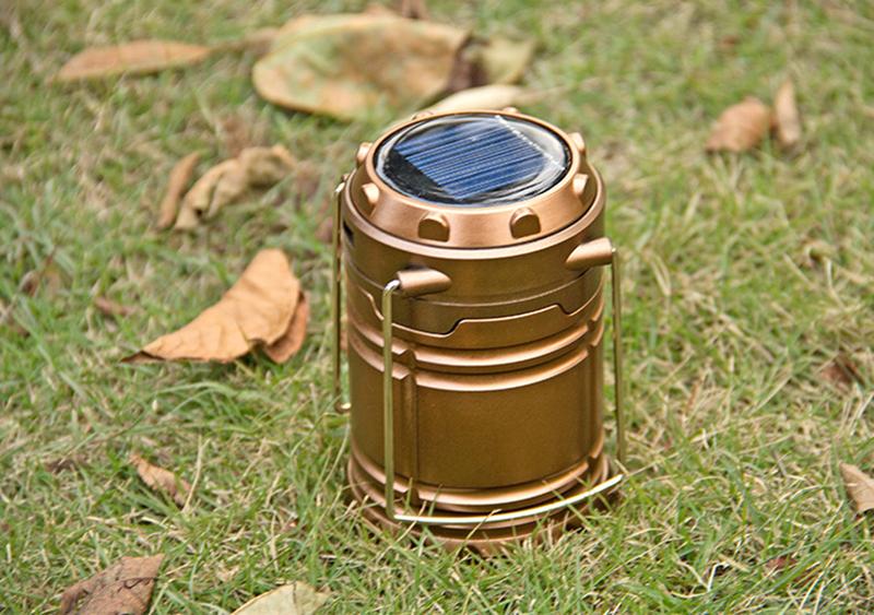Đèn pin sạc năng lượng mặt trời 5