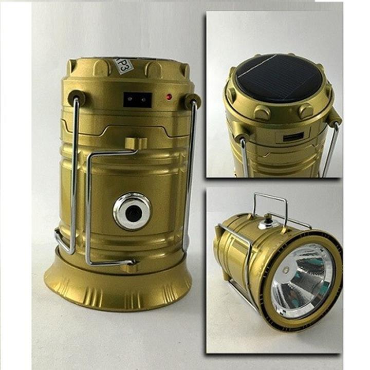 Đèn pin sạc năng lượng mặt trời 2