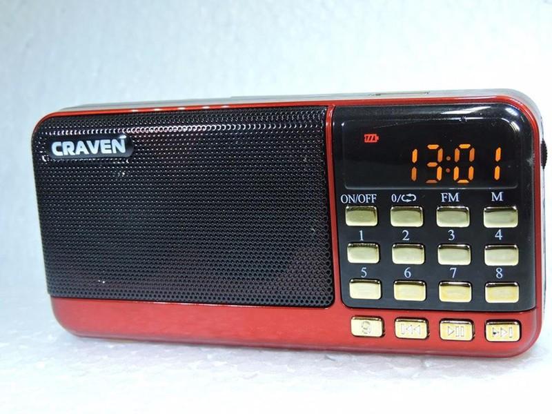 Loa Craven CR-83 - FM USB thẻ nhớ 1