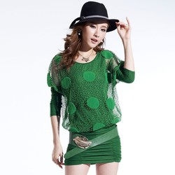 Đầm nữ dài tay thời trang, thiết kế sang trọng, kiểu dáng châu Âu.