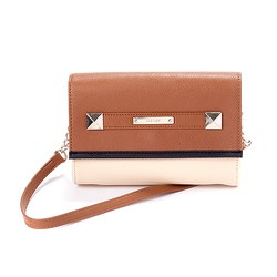 Túi xách NINE WEST TOTALLY TONAL CROSSBODY - BEIGE BROWN