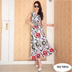 Đầm dài dạ hội, đi làm nhẹ nhàng - sang trọng NH16