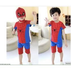20-38KG Bộ bé trai siêu nhân nhện TẶNG kèm mặt nạ mùa hè