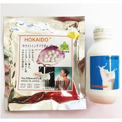 Bộ kem tắm trắng cấp tốc Sữa non Ngọc trai Hokaido