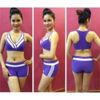 Bộ quần áo tập thể dục thẩm mỹ TM009