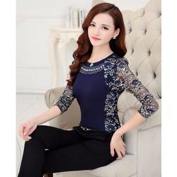 Áo kiểu nữ xinh dịu dàng - Mã số MM80456