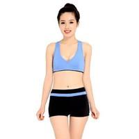 Bộ quần áo tâp thể dục thẩm mỹ TM016