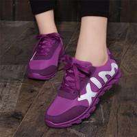 Giày thể thao nữ đế bằng nổi bậc TT217D - Doni86.com