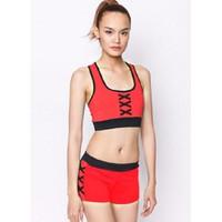Bộ quần áo tâp thể dục thẩm mỹ TM011